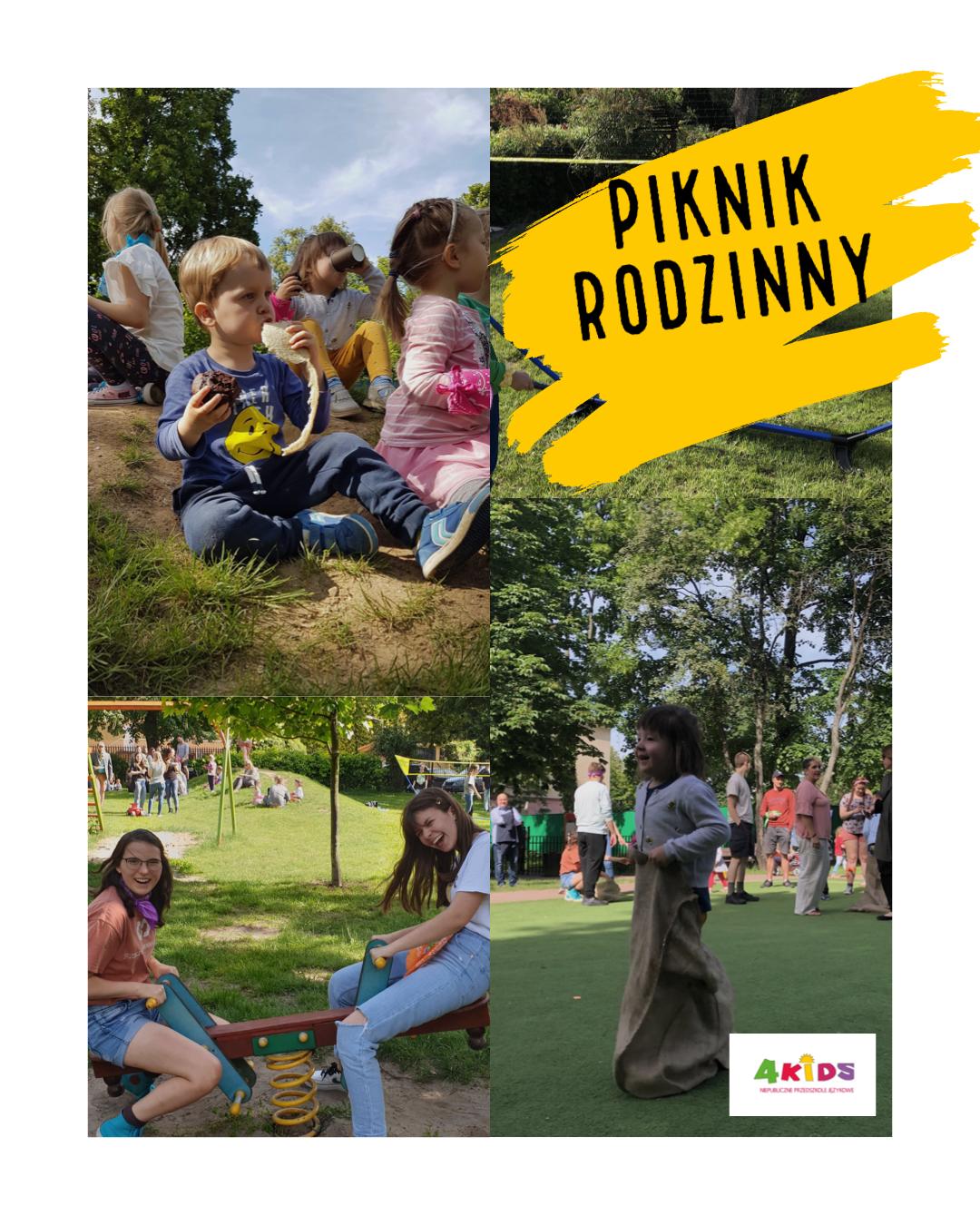 Piknik rodzinny Czerwiec 2019